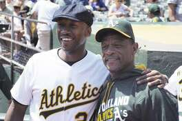 """Moonlight"" actor and Oakland native Mahershala Ali visited the Coliseum in 2016."