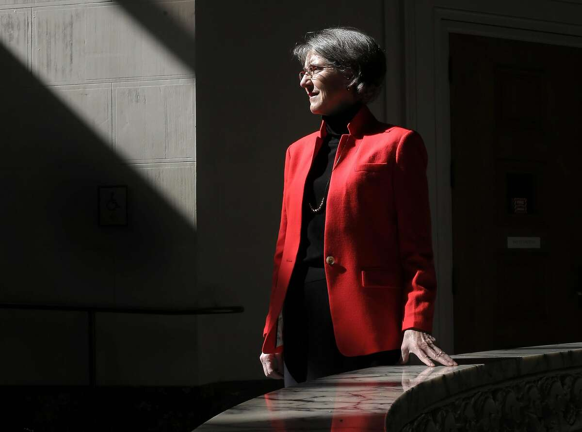 Oakland's new Chief of Police Anne Kirkpatrick at Oakland City Hall, stands for a portrait on Thursday February 23, 2017, in Oakland, Ca.