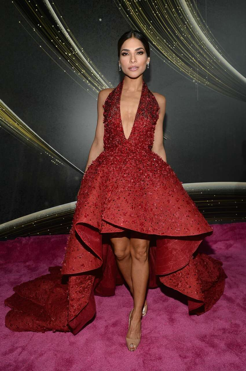 Best: Alejandra Espinoza's gown is a reincarnation of Dorothy's Ruby slipper and its amazing.