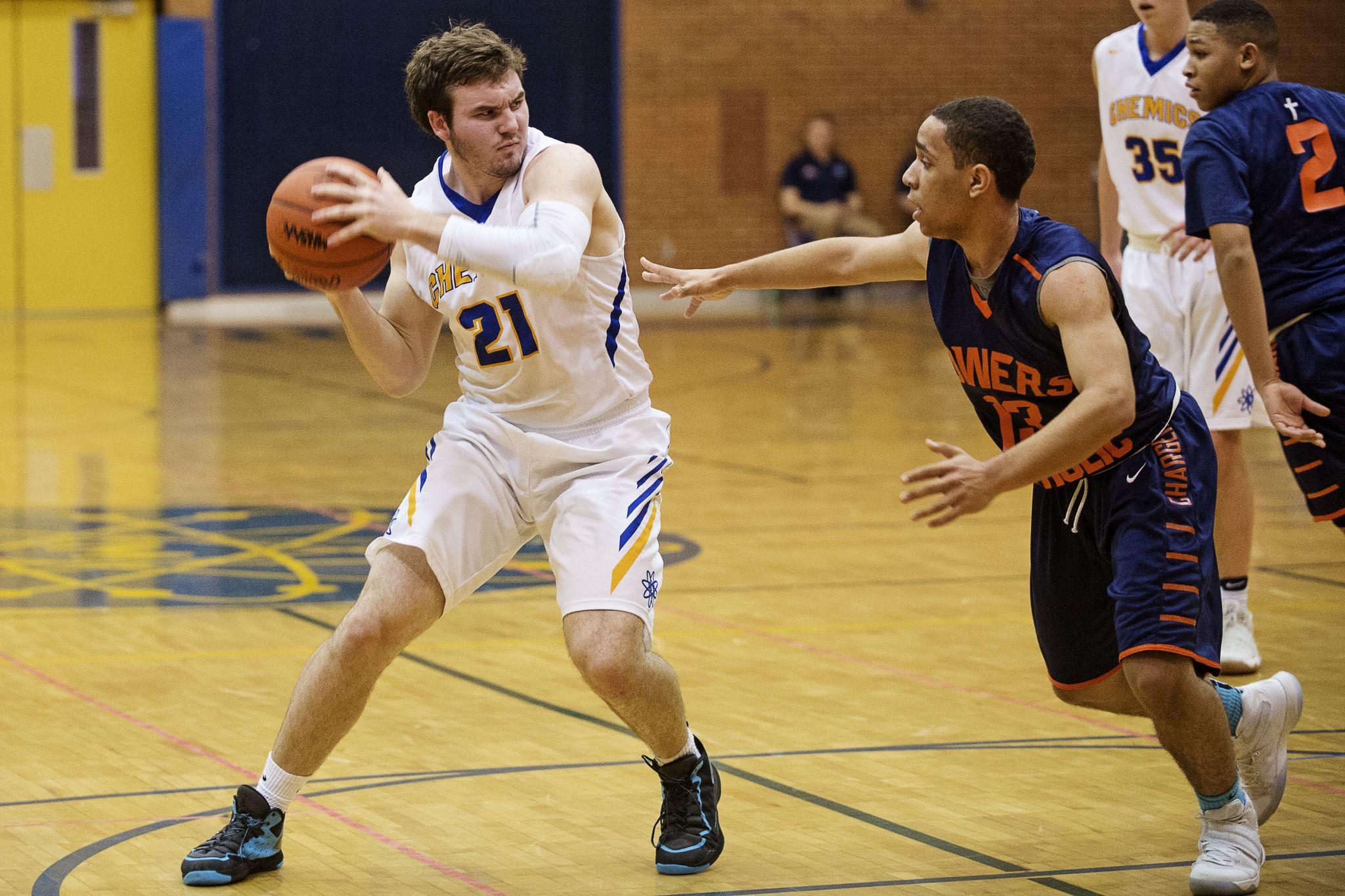 Midland vs. Powers Catholic boys' basketball - Midland ...