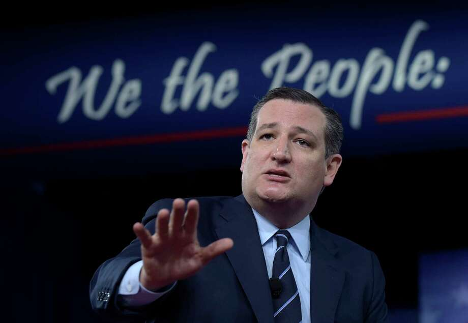 U.S. Sen. Ted Cruz, R-Texas Photo: Susan Walsh, STF / Copyright 2017 The Associated Press. All rights reserved.
