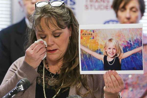 Kimberly Shappley worries about her daughter Kai, 6, now that a directive regarding how schools should treat transgender children has been reversed.