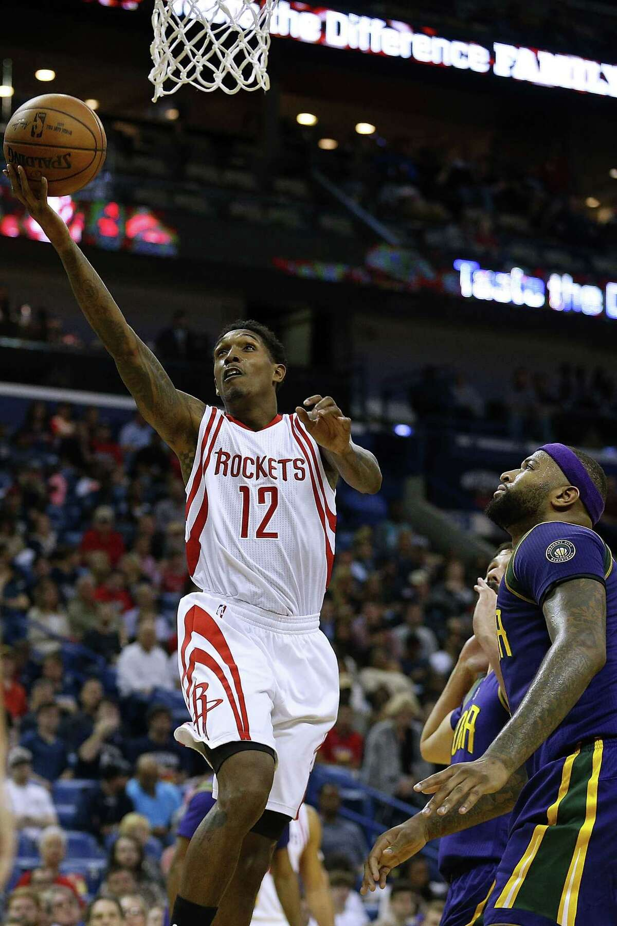 The Lakers send Lou Williams to the Rockets for Corey Brewer and a future first-round pick Rockets grade: A Corey Brewer, although a great guy and teammate, had played himself out of a rotation spot. Lou Williams gives the Rockets even more firepower off the bench and makes then an even more legitimate contender than they already were. Losing a first-round pick hurts, but it was going to be a pick late in the first round anyway. Lakers grade: C The Lakers need their first-round pick to be in the top three or else they have to give it up to the 76ers. So, the goal for the Lakers the rest of this season is to lose games and keep that pick. Lou Williams wasn't helping them lose games. So, see ya, Lou.
