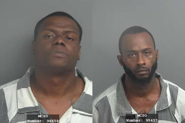 Deputies arrested two men they believe are responsible for almost two dozen burglaries in The Woodlands.