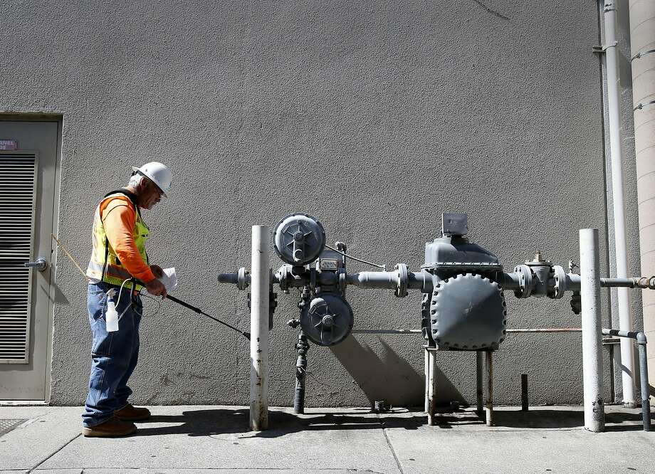 The recent spikes in PG&E bills are largely due to increases in natural gas prices, according to Donald Cutler, a spokesman for the utility provider. Photo: Brant Ward, San Francisco Chronicle