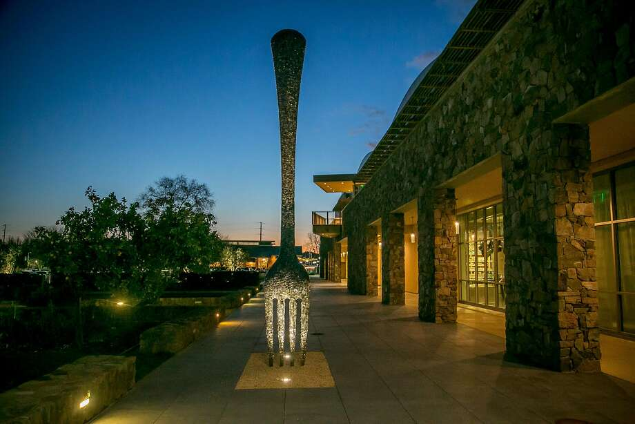 The sculpture outside of CIA at Copia in Napa, Calif. is seen on February 23rd, 2017. Photo: John Storey, Special To The Chronicle