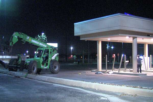 The robbery was discovered around 4 a.m., Feb. 24, 2017, near Interstate 35 and Walzem Road, when an officer noticed what he thought was a scrap of metal, but turned out to be an ATM.