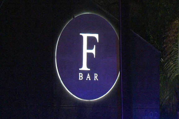 A screenshot of video footage shows F Bar along Tuam Street in Houston, Texas on Feb. 24, 2017. During the early morning hours, Houston Police said multiple fights broke out in the parking lot of the gay bar. No one was arrested and no one had to be taken to the hospital. Metro Video Services, LLC/For the Houston Chronicle