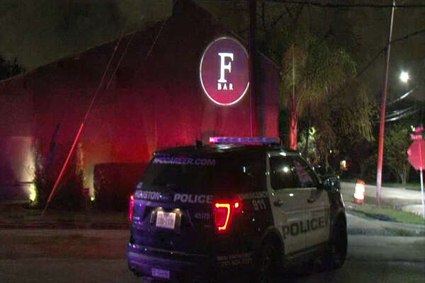 A screenshot of video footage shows F Bar along Tuam Street in Houston, Texas on Feb. 24, 2017. During the early morning hours, Houston Police said multiple fights broke out in the parking lot of the gay bar. No one was arrested and no one had to be taken to the hospital.
