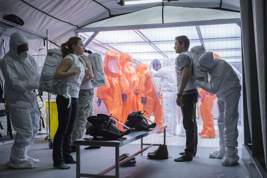 """Arrival,"" starring Amy Adams and Jeremy Renner, is based on..."