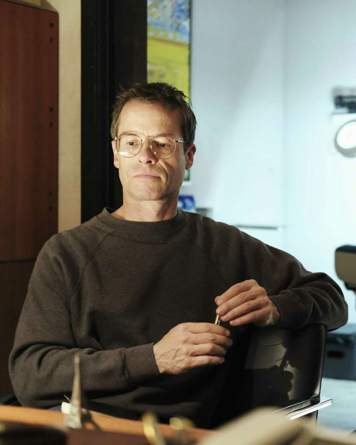"""Guy Pearce plays Cleve Jones in """"When We Rise,"""" the ABC miniseries created by Dustin Lance Black"""