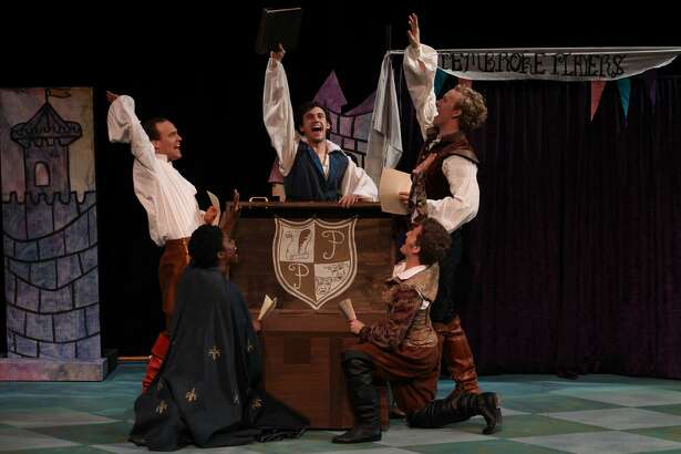 Scene from the Texas Shakespeare Festival production.