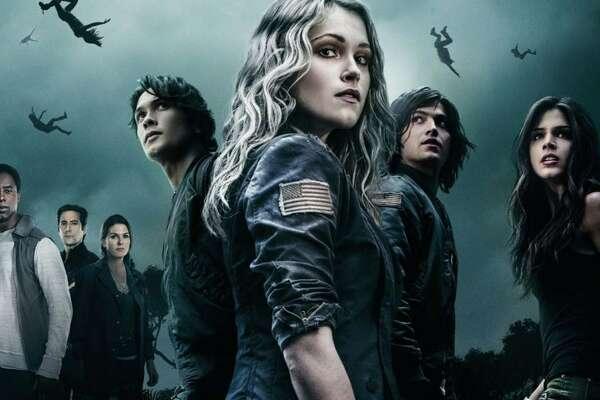 THE 100      RENEWED:  The CW renewed the sci-fi drama for a fifth season. (THE CW)