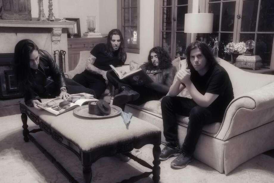 Thadeus Gonzalez (from left to right): Scott Reategui Richards, Thadeus Gonzalez, Robert John Tucker, Jason Lucero Photo: Courtesy Of The Artist