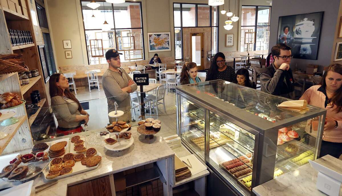 Bakery Lorraine is a popular pastry stop at The Pearl. The bakery is bringing a doughnut shop called Maybelle's Donuts to the new food hall at The Pearl.