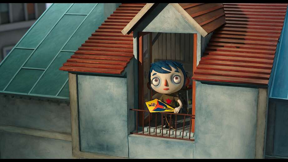 "An image from the animated feature ""My Life as a Zucchini."" Photo: GKIDS"