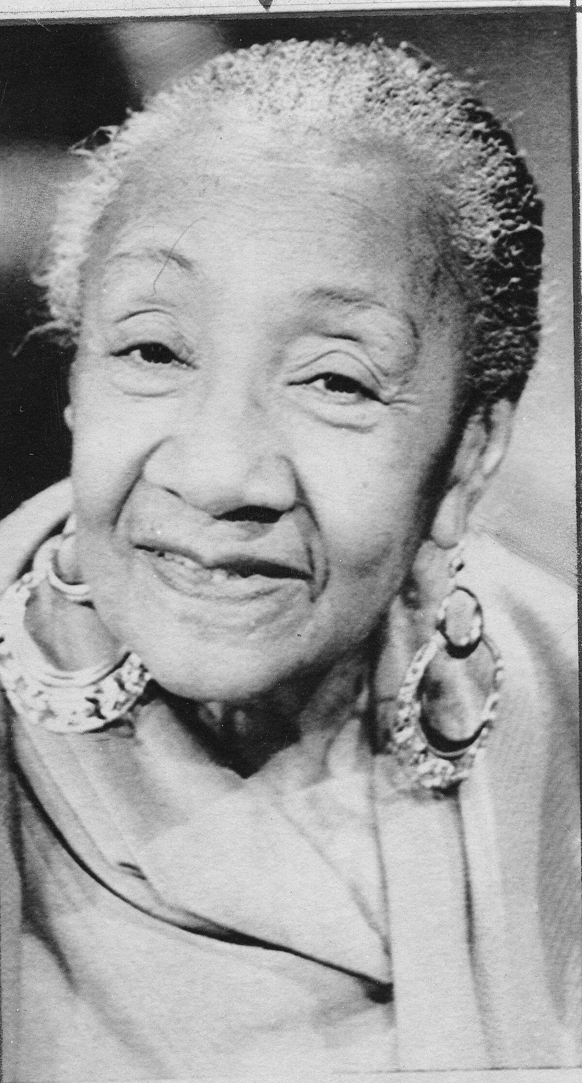 Blues singer Alberta Hunter whose voice delighted audiences for nearly 8 decades, shown here in 1979.