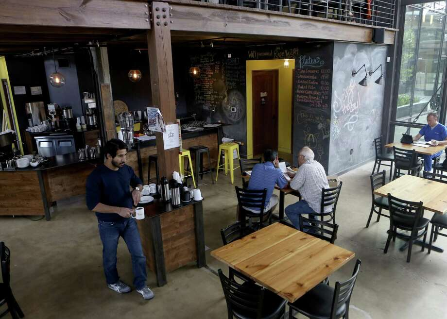 Interior of Rosella Coffee Photo: Express-News File Photo / ©2014 San Antonio Express-News