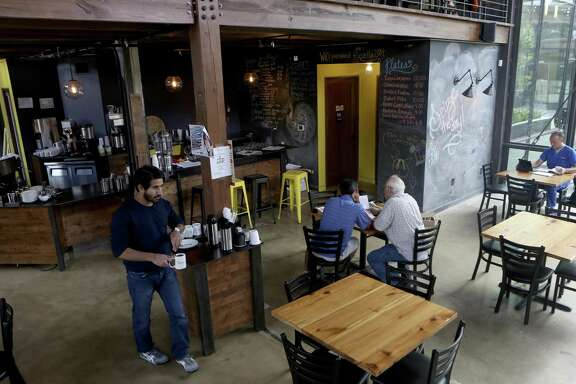 Interior of Rosella Coffee