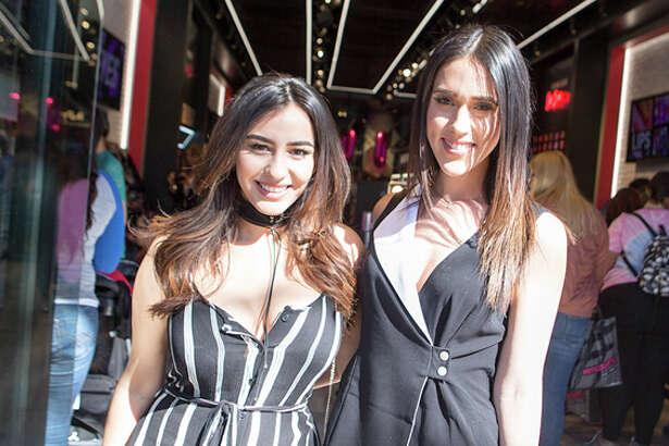 A throng of fans welcomed the newest NYX Cosmetics store which opened at The Shops at La Cantera Friday, Feb. 24, 2017.