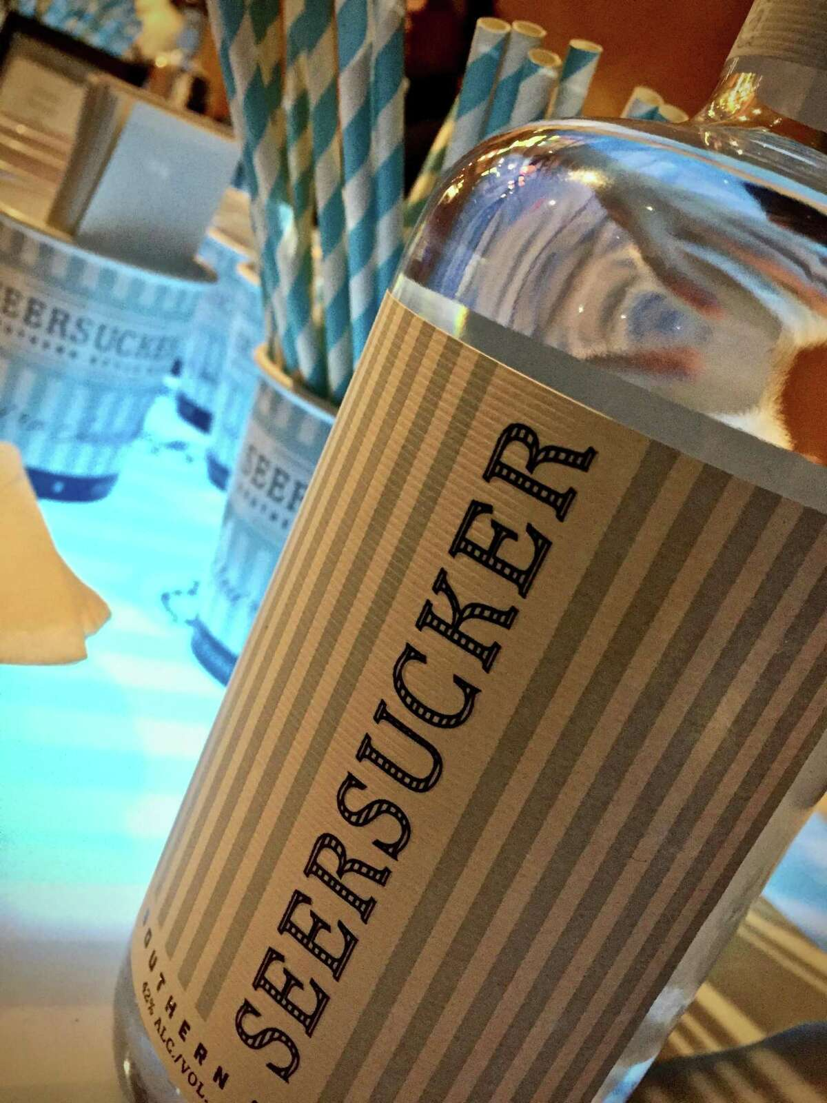 Seersucker Southern Style Gin is a co-sponser of the Traditional Ramos Gin Fizz Shake Party, which will be held at The Modernist 5-8 p.m. Sept. 10.