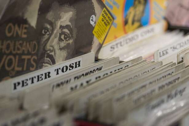 WPKN's Music Mash event returns this year to Read's Artspace in Bridgeport. About 50 dealers will gather Saturday, March 4, with thousands of vinyl LPs and CDs on sale. Here are some selections from last year's event.