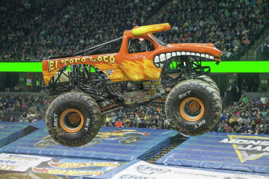 Monster Jam hits the Webster Bank Arena in BridgeportFriday-Sunday.Find out more. Photo: Monster Jam Triple Threat Series / Contributed Photo
