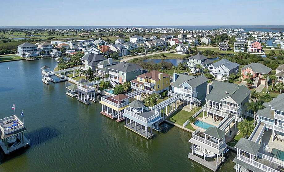 Click to tour some of Galveston's most stunning waterfront homes.