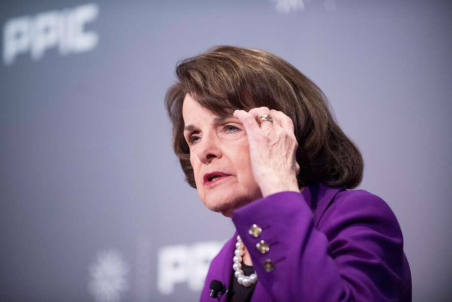 Dianne Feinstein is the highest-ranking Democrat on the Senate Judiciary Committee. Photo: Noah Berger, Special To The Chronicle