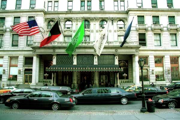 This is The Plaza hotel in New York City. Ken Hoffman did not stay here.