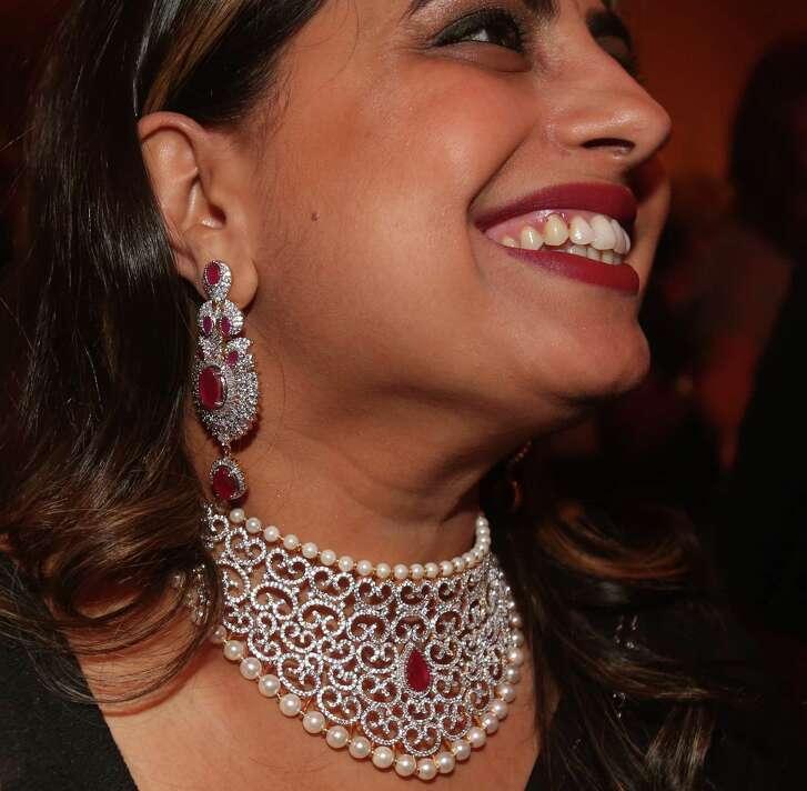 Ruchi Mujerkee's costume jewelry at the Winter Ball