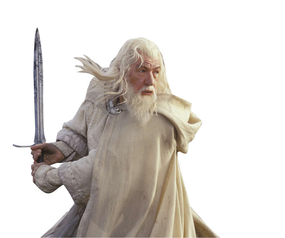 "Ian McKellen as Gandalf battles evil in this undated promotional photo from New Lines epic film, The Lord of the Rings: The Return of the King."" The New York Film Critics Circle on Monday Dec. 15, 2003, chose this last of the ""Rings"" trilogy as the top film of 2003. (AP Photo/New Line Productions,Pierre Vinet) Photo: PIERRE VINET, HO / NEW LINE PRODUCTIONS"
