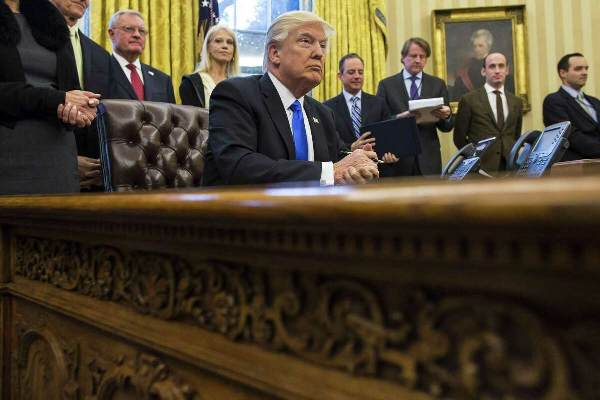Whether one agrees with President Donald Trump's travel ban may be a political question. But the ability of a federal court to review whether the travel ban exceeds the law is not.
