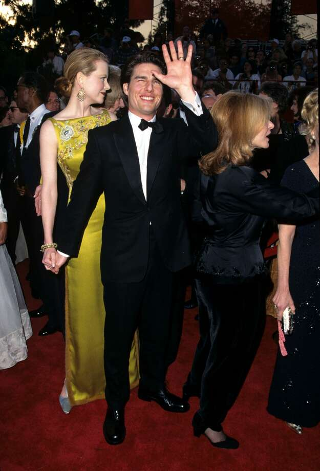 Nicole Kidman and Tom Cruise during The 69th Annual Academy Awards - Arrivals at Shrine Auditorium in Los Angeles, California, United States. (Photo by S. Granitz/WireImage) Photo: Steve.Granitz/INACTIVE/WireImage