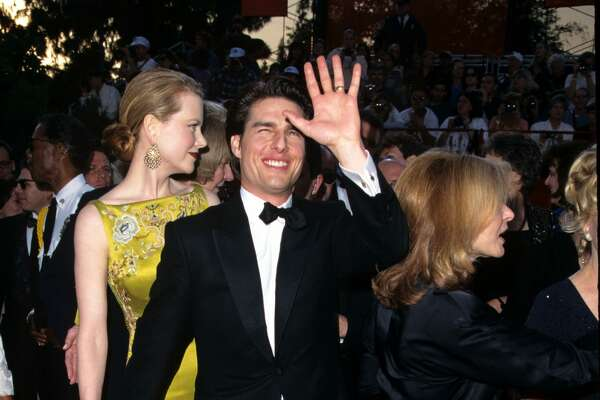 Nicole Kidman and Tom Cruise during The 69th Annual Academy Awards - Arrivals at Shrine Auditorium in Los Angeles, California, United States. (Photo by S. Granitz/WireImage)