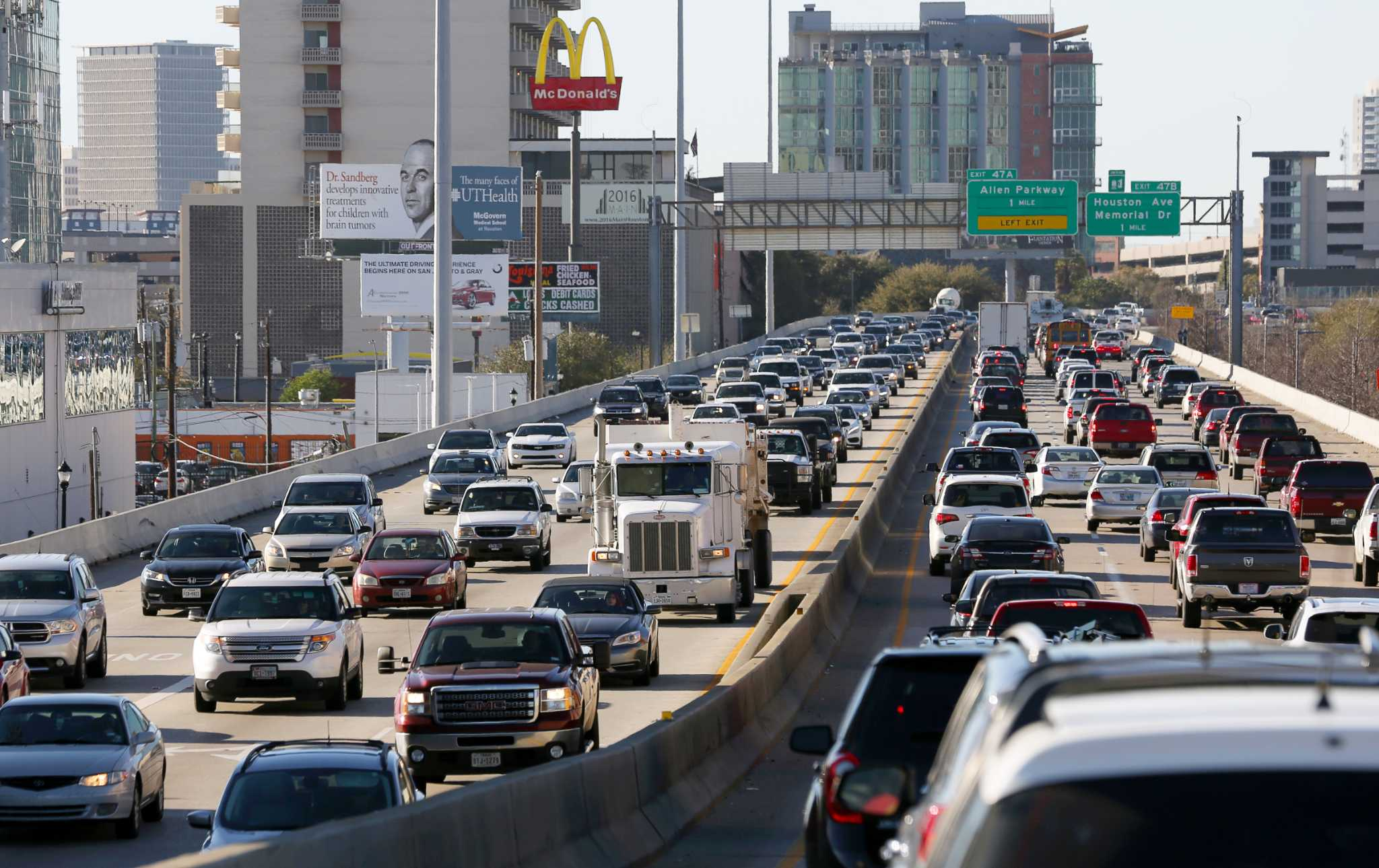 State Accelerates Start Time For Major I 45 Improvement