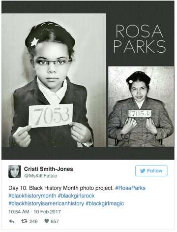Morrison Angelou And More 5 Year Old Gets Adorable Black History Month Lesson Expressnews Com