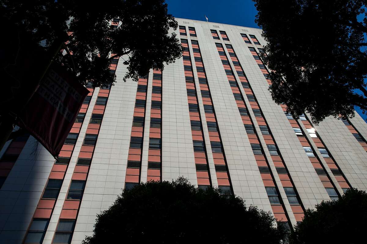 The US Citizenship and Immigration Services building located at 630 Sansome Street on Thursday, Feb. 23, 2017, in San Francisco, Calif.