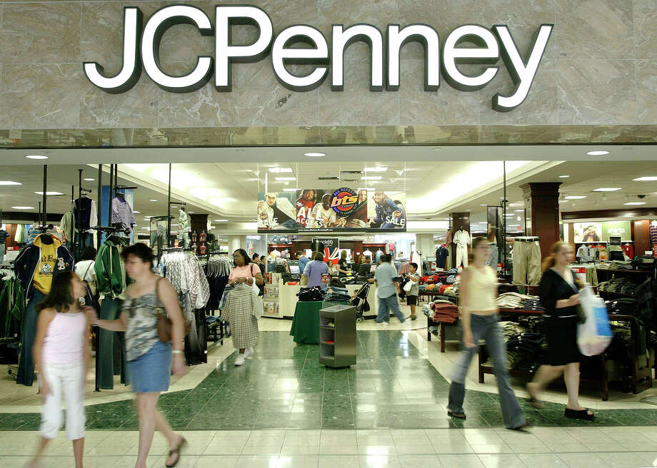 FILE - In this Aug. 16, 2005 file photo, customers walk out of a J.C. Penny department store in Dallas.   J.C. Penney said Friday, Feb. 24, 2017, that it will be closing anywhere from 130 to 140 stores as well as two distribution centers over the next several months as it aims to improve profitability in the era of online shopping.(AP Photo/Matt Slocum) Photo: MATT SLOCUM, STF / AP2005
