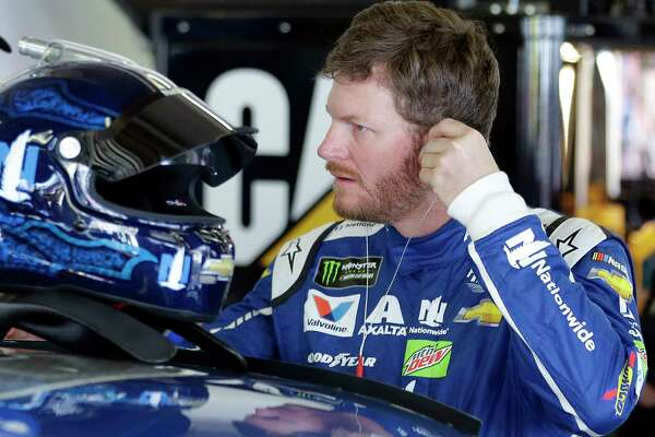 A victory by Dale Earnhardt Jr., who is returning to the track after a concussion sidelined him the second half of last season, would be a boost for NASCAR, which has seen its popularity waver in recent years.