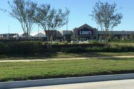 Lowe's opened a 100,000- square-foot store in January in The Shoppes at Cinco Ranch, a new development at Spring Green Boulevard and FM 1093 in Katy.