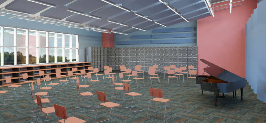 The Brunswick/Brittonkill Central School district plans a capital building project, includiing renovations to the music room. (Brunswick/Brittonkill Central School District/SEI design group)