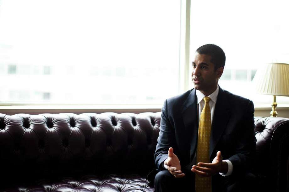 FCC Chairman Ajit Pai does not need a formal vote to initiate a stay of data security provisions, according to the FCC's bylaws; policy analysts say he can authorize officials to suspend those aspects of the rules independently. Photo: Christopher Gregory /New York Times / NYTNS