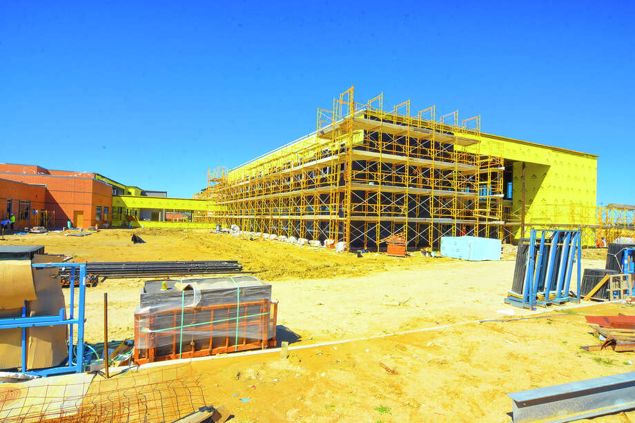 Matzke Elementary School Construction, Mills rd, Cypress, Texas, usa 2/18/2017 - 2/23/2017 ,Photographer : Tony Gaines  Matzo Elementary School Construction Photo: Tony Gaines, Photographer