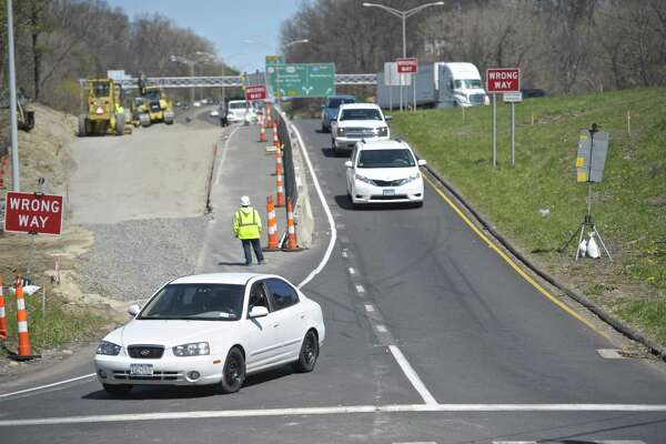 File photo of I-84 exit 6 off-ramp.