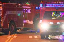The King County Sheriff's Office says a woman was hit and killed by a vehicle Friday night in Burien. The driver left before help could arrive.