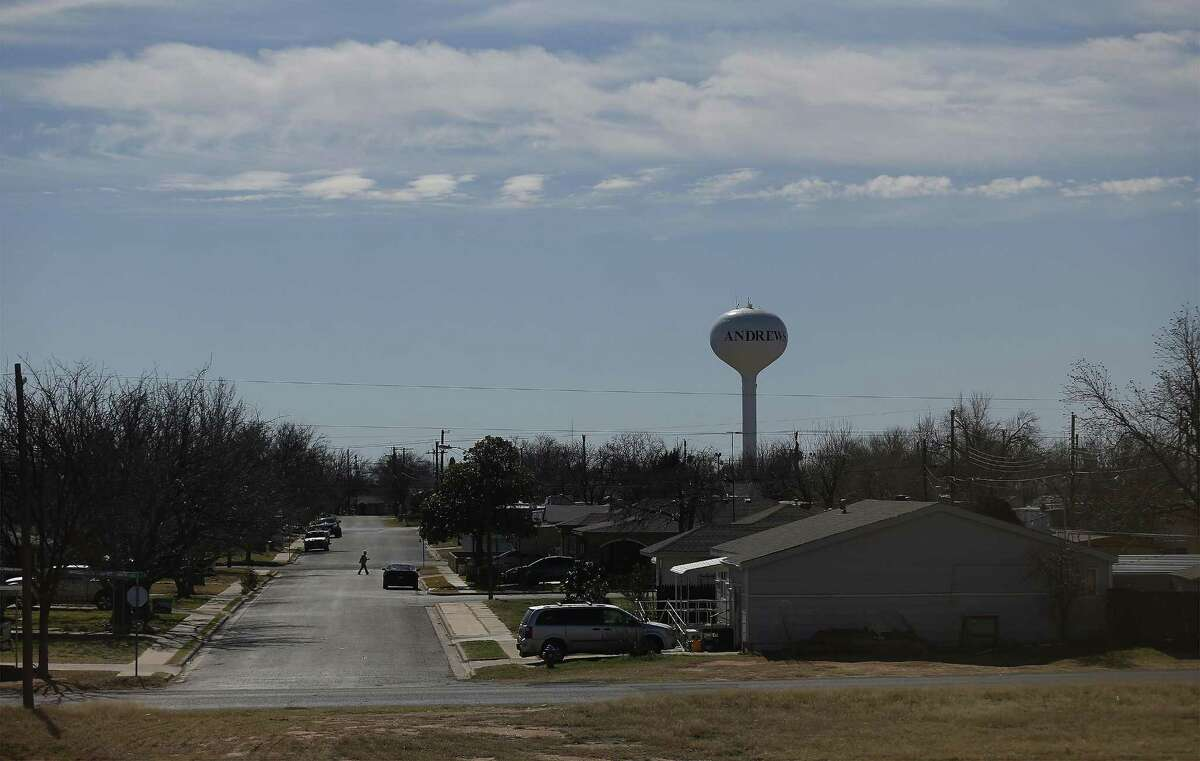 The city of Andrews, Texas in far West Texas has a population of approximately 11,000. Waste Control Specialists near Andrews, Texas provides services to store low-level nuclear waste and is proposing to store spent nuclear fuel until a permanent storage facility is completed.