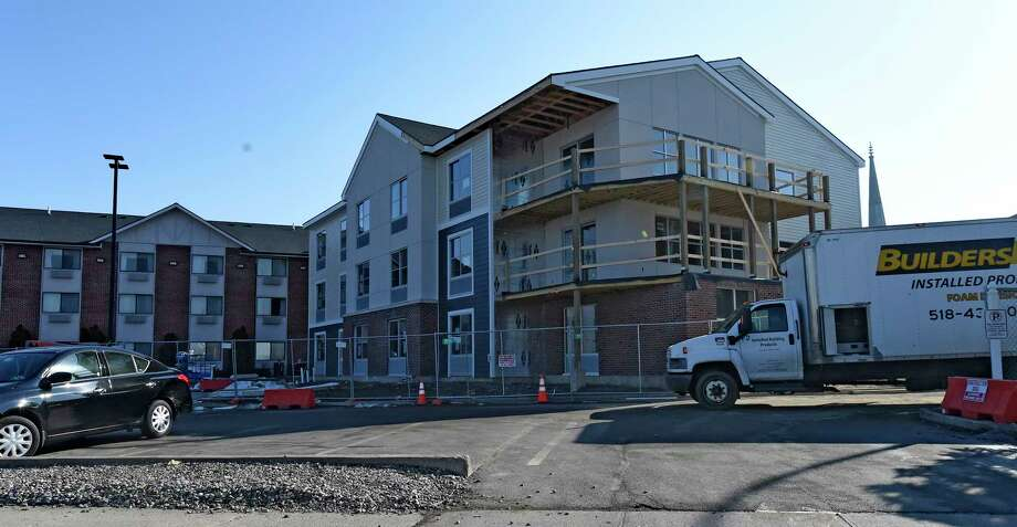 The Franklin Inn Suites Are Under Construction Thursday Feb 23 2017 In Troy
