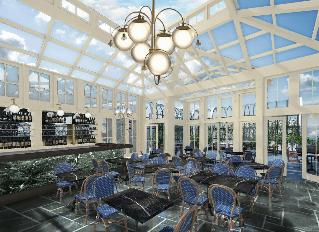 An Interior Rendering Of The Remodeled Adelphi Hotel In Saratoga Springs Which Is Slated To