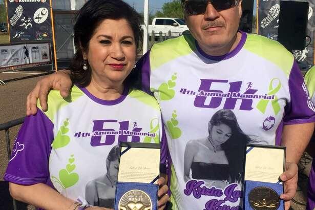 Hundreds gather Saturday at Lake Casa Blanca for the Krizia Keiser Memorial 5K.